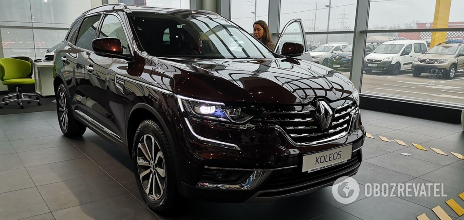 Оновлений Renault Koleos 2021 презентували в Україні