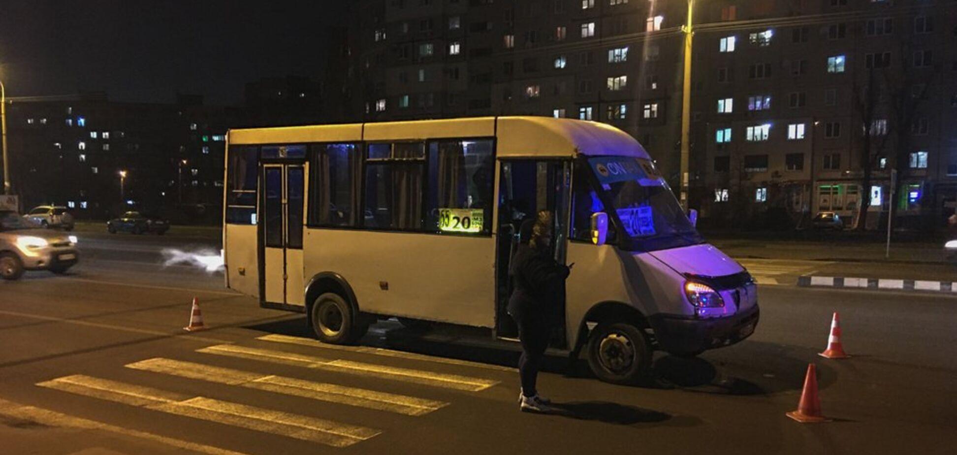 В Днепре сбили двух человек на 'зебре': жуткие фото и видео