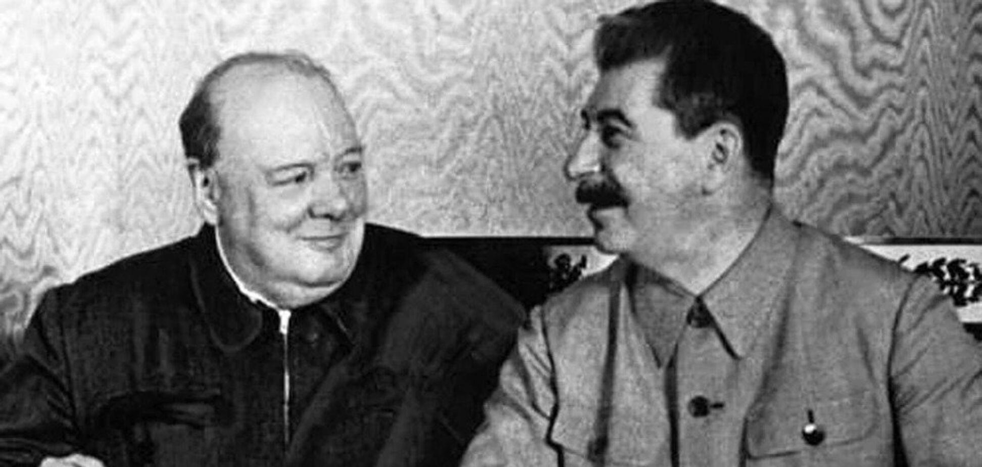 Росія розсекретила таємну розмову Сталіна і Черчілля: про що йдеться