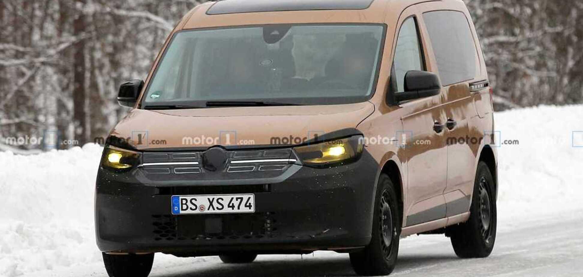 Новий VW Caddy 2020 скопіював зовнішність кросовера Renault