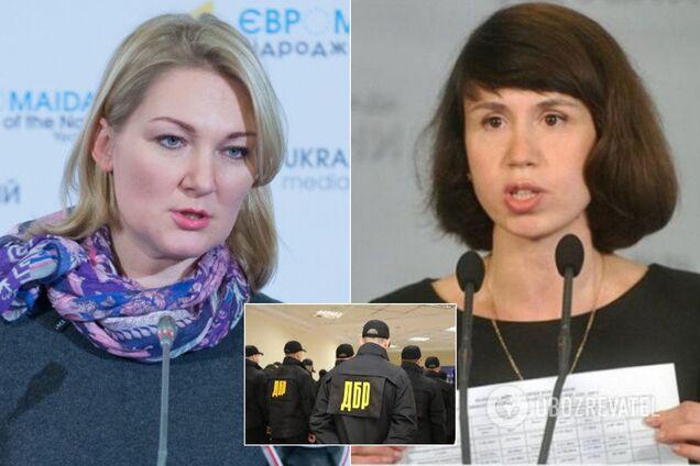 Мария Ионова и Татьяна Чорновол