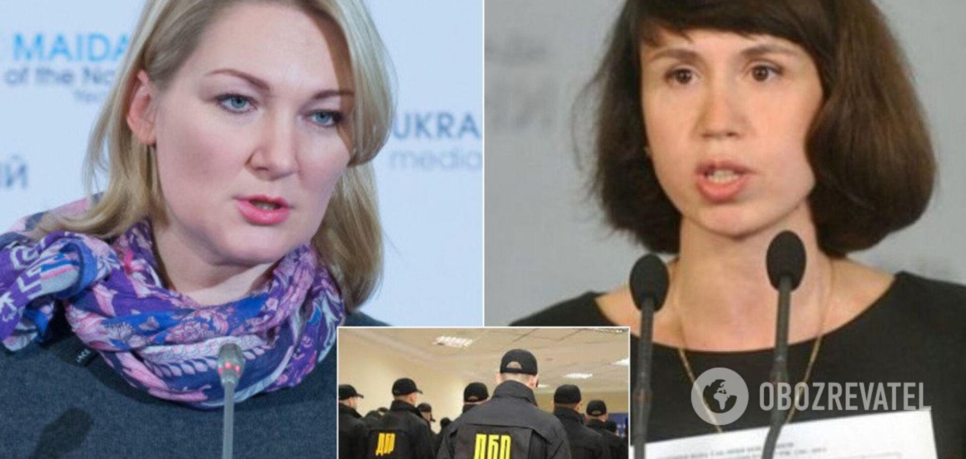 'Зламали ногу, тітушки!' Іонова і Чорновол прокоментували 'незаконне' проникнення до ДБР