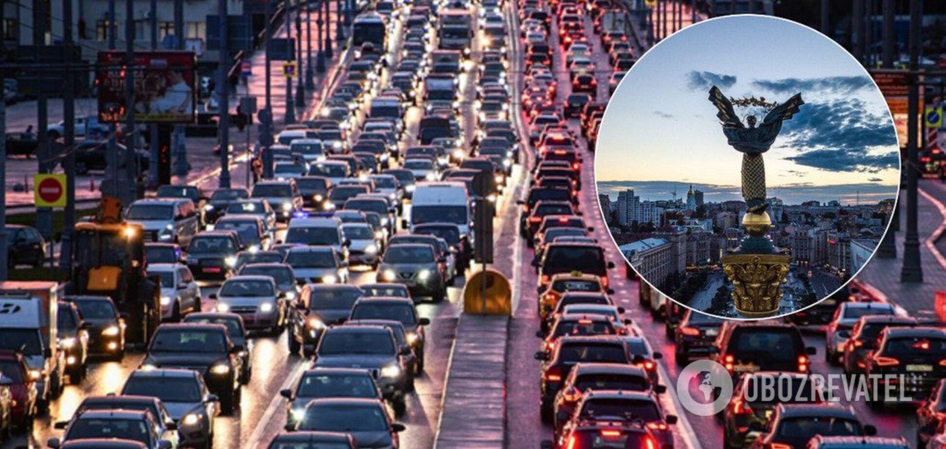 Транспорт може паралізувати Київ вже в 2020 році