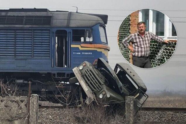 У зіткненні з поїздом в Тячеві загинув багатодітний батько