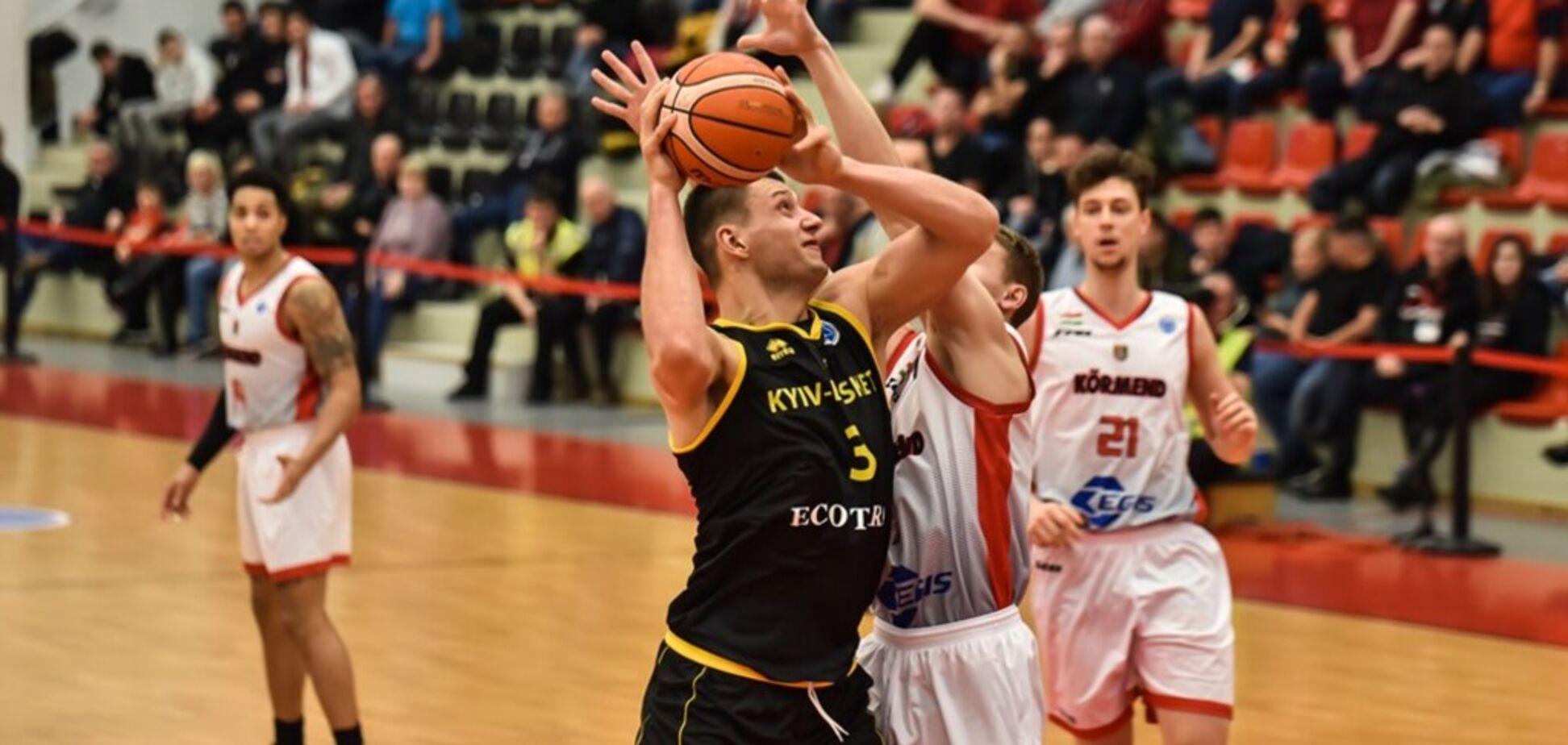 'Киев-Баскет' потерпел первое поражение в Кубке Европы ФИБА