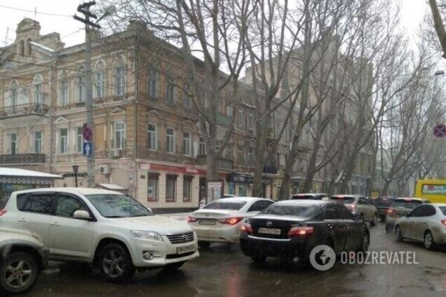 Затори в Одесі