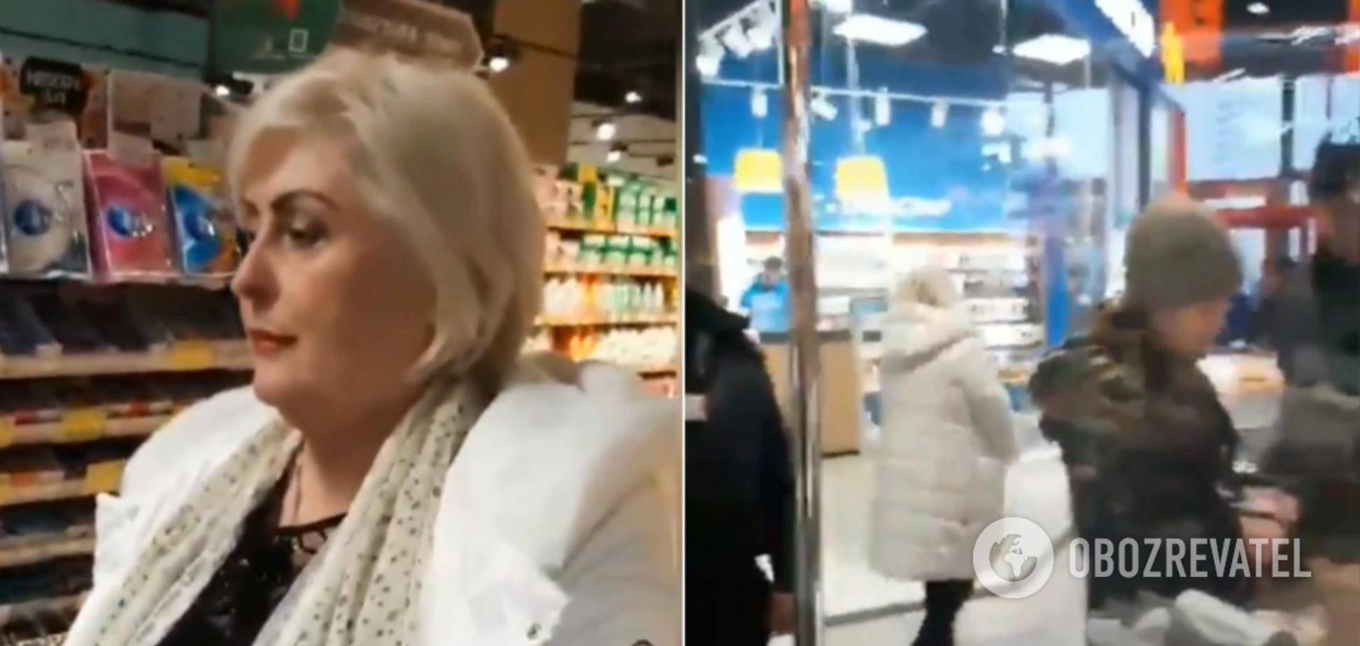 Одіозну Штепу зловили в київському супермаркеті