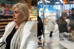 Одиозную Штепу поймали в киевском супермаркете