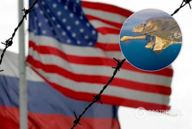 Соединенные Штаты будут сохранять санкции в отношении Крыма до тех пор, пока Россия не откажется от него