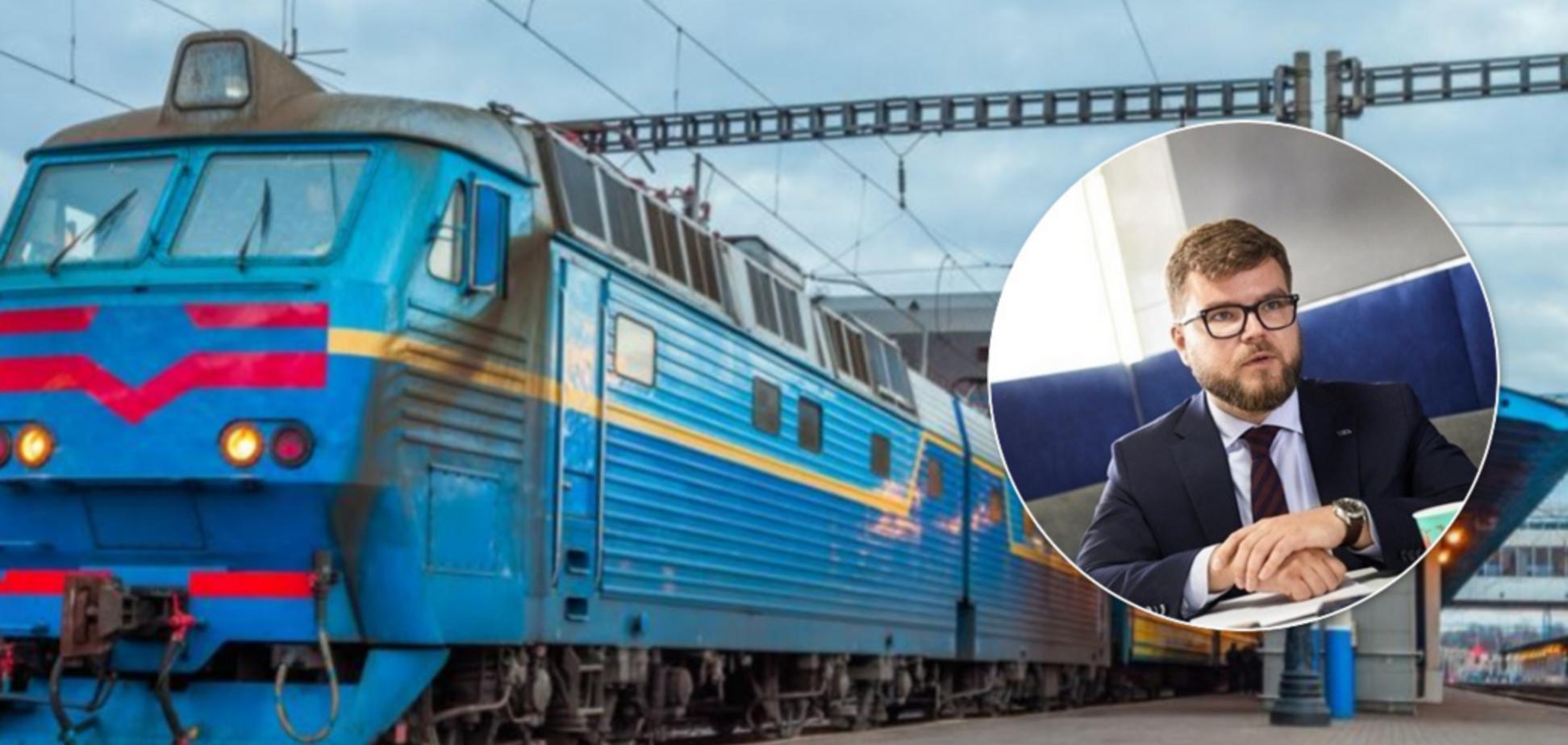 Звільнений Кравцов похвалився компенсацією від 'Укрзалізниці'