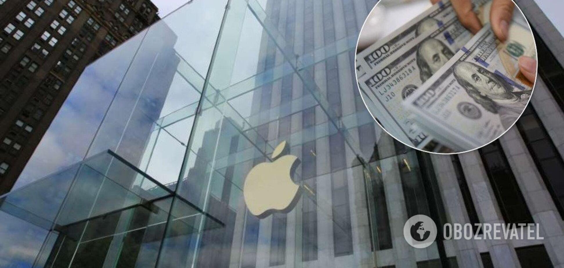 Акції Apple побили новий рекорд: стала відомою вартість гіганта