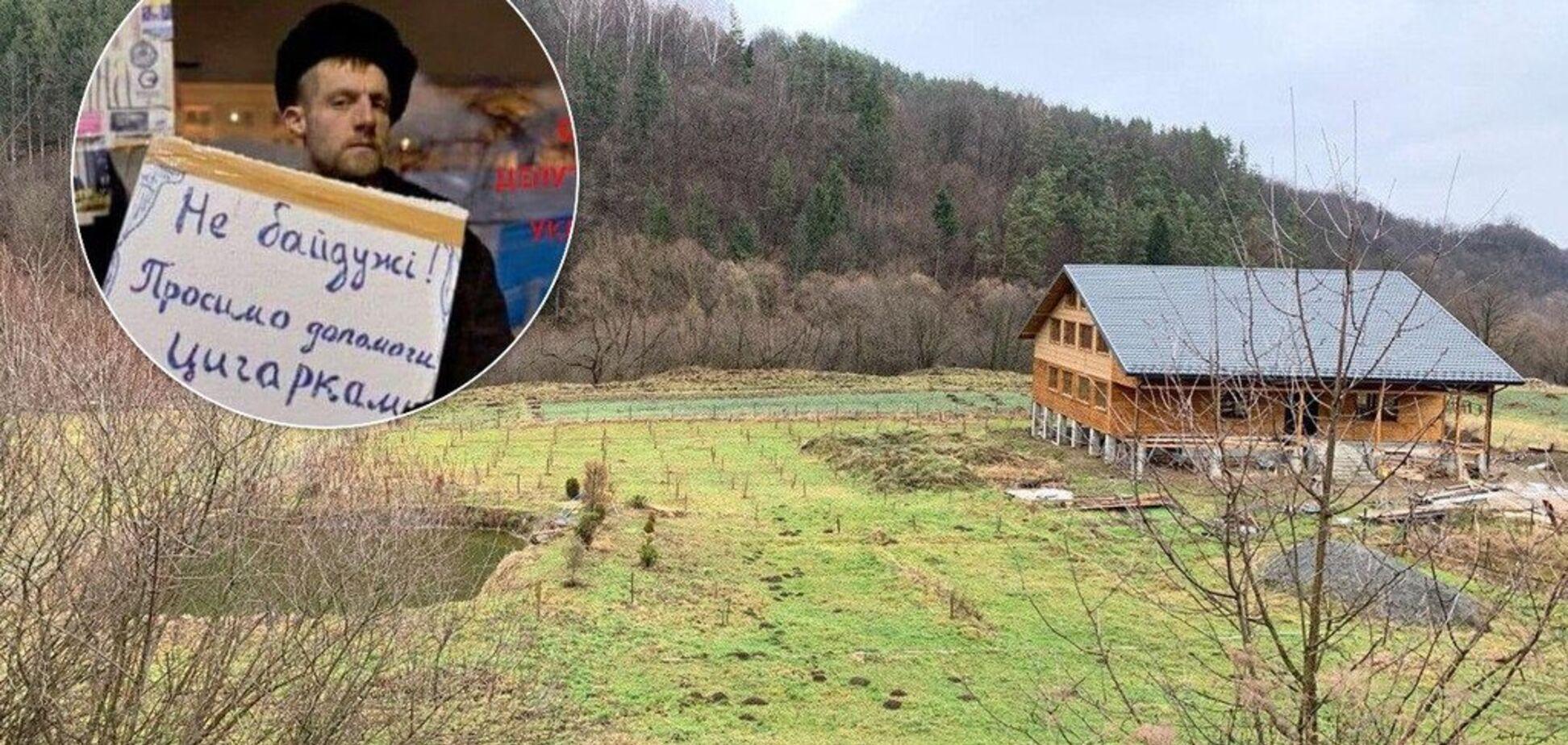 'Трудился честно!' У экс-нардепа 'козака' Гаврилюка нашли трехэтажный дом в Карпатах: он оправдался