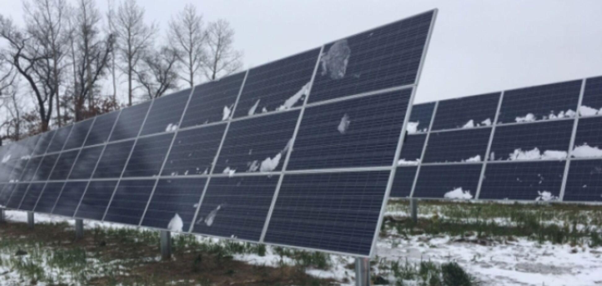 Під Сумами побудували першу в області сонячну електростанцію