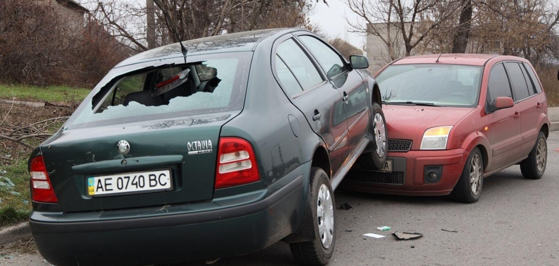 Перелетел через авто: в Днепре пьяный водитель устроил страшное ДТП на мосту