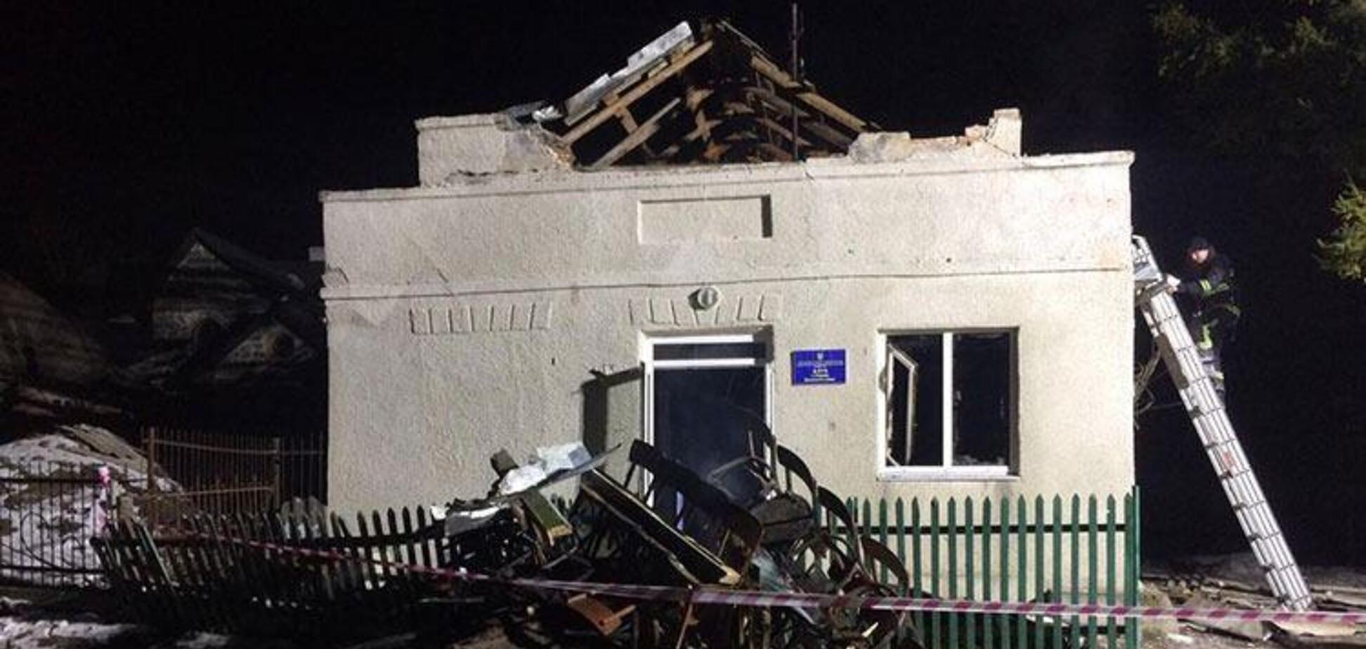 На Тернопільщині вибухнув сільський клуб: 8 дітей в реанімації