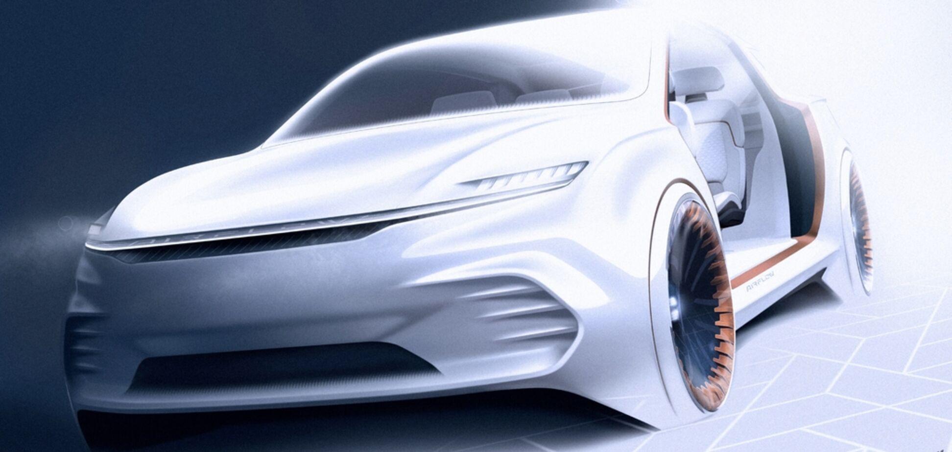 Chrysler презентовал электромобиль будущего