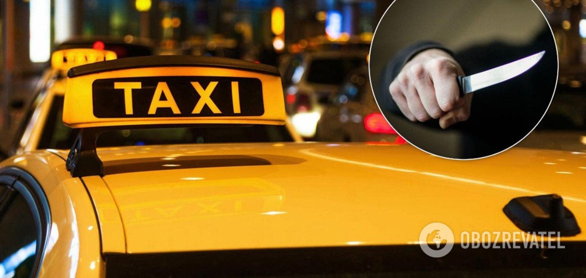 У Росії неадекватний пасажир таксі напав на водійку