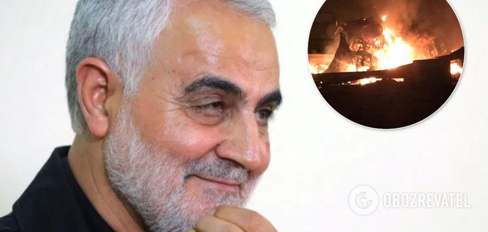 Кровавое месиво: появились первые фото тела убитого Сулеймани. 18+