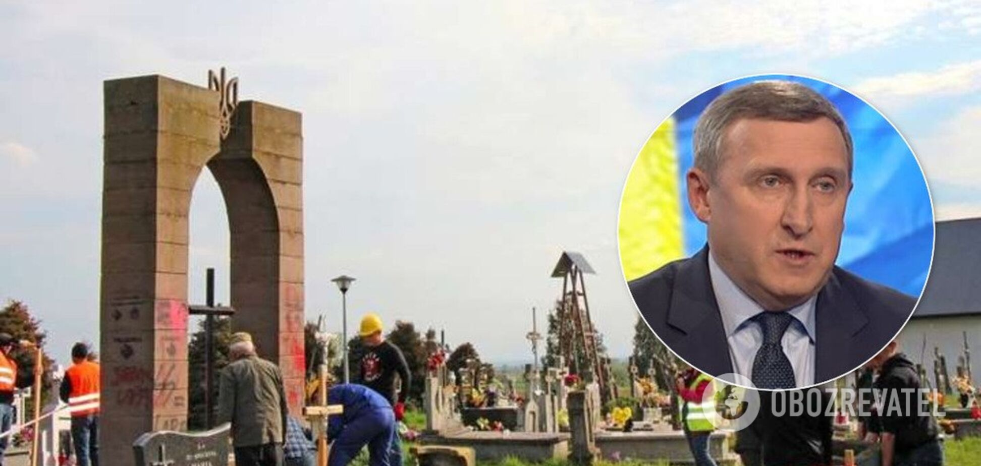 Украинские памятники в Польше