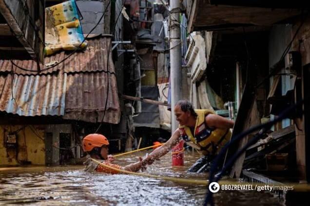 Индонезию накрыло масштабное наводнение