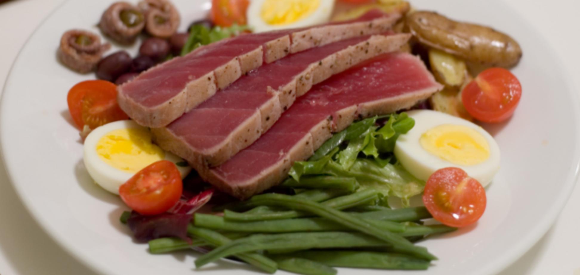 Рецепт чудового простого салату французької кухні