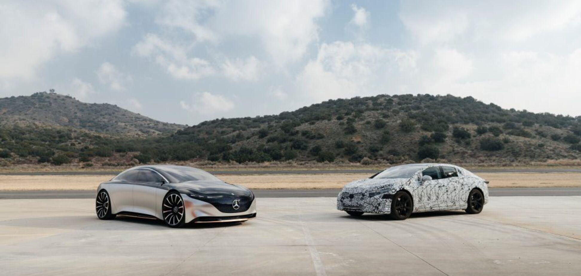 Mercedes-Benz показав суперника Tesla Model S