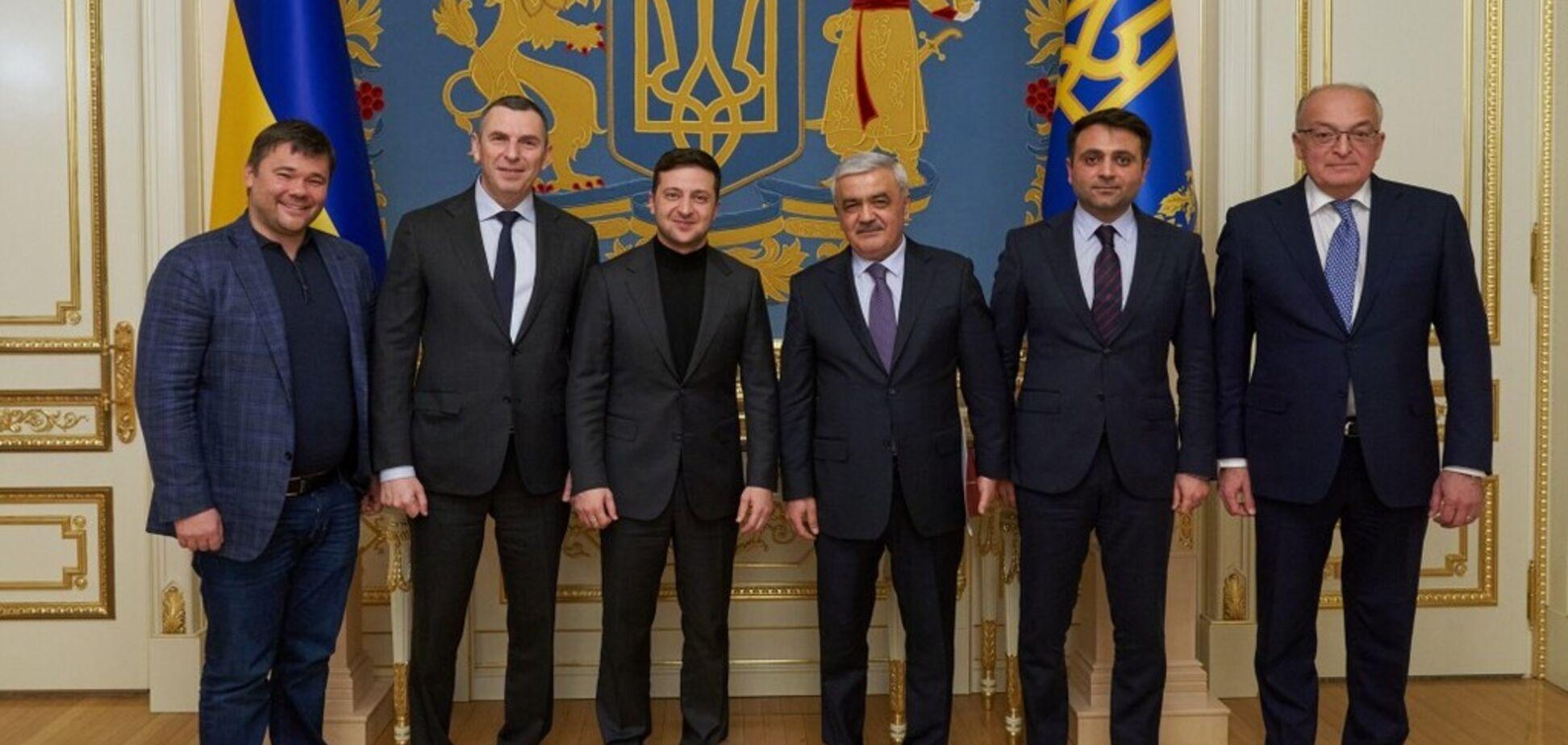 Зеленский встретился с президентом SOCAR: о чем договорились