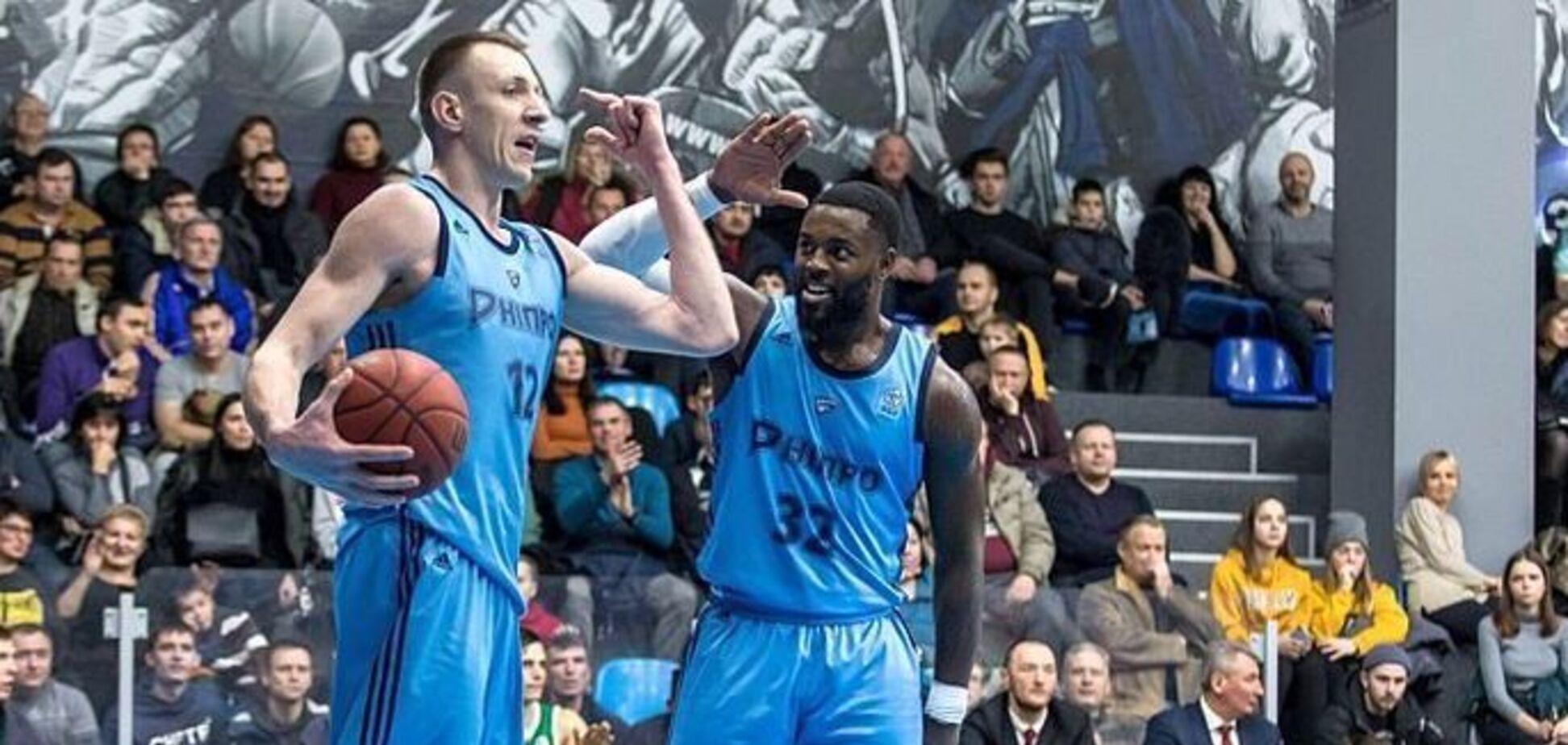 'Дніпро' переміг 'Запоріжжя' у чвертьфіналі Кубка України з баскетболу