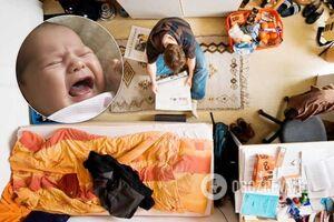 Вонь и тараканы: в Запорожье горе-родители замучили двухлетнего ребенка. Видео спасения