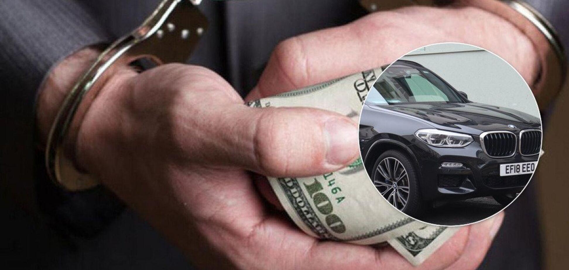 За вступ – BMW: ректора українського вишу звинуватили в масштабних хабарах