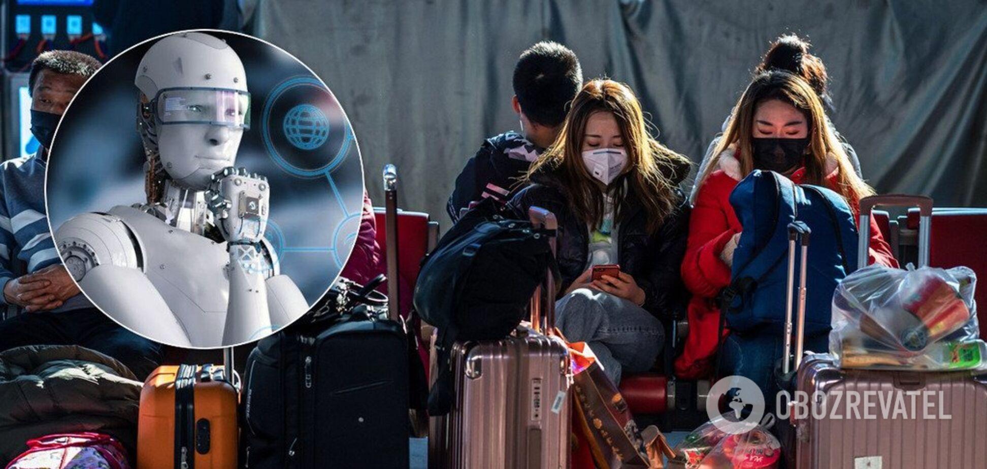 Штучний інтелект першим зафіксував спалах коронавірусу в Китаї