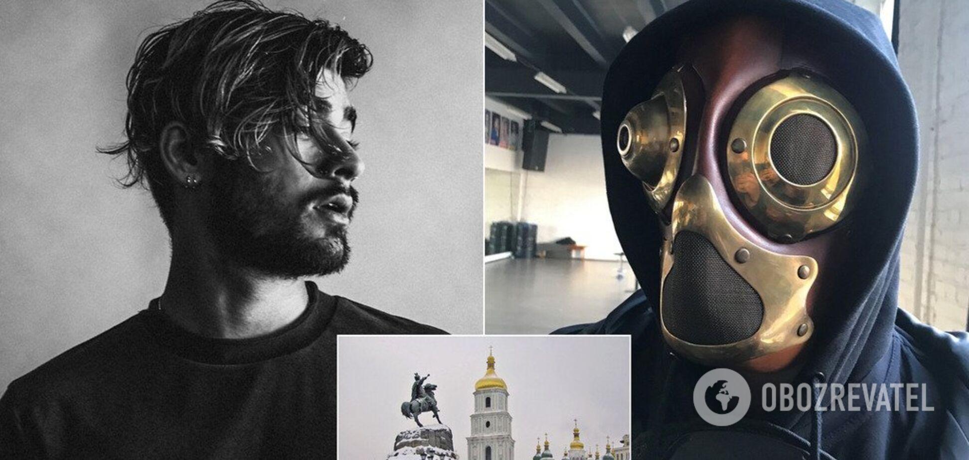 Популярний британський Zayn співакзняв кліп у Києві