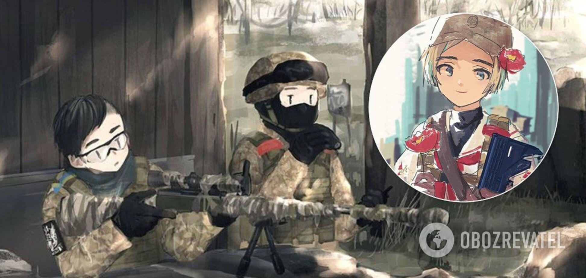 'Неймовірно!' У мережі згадали барвисті аніме українських Героїв