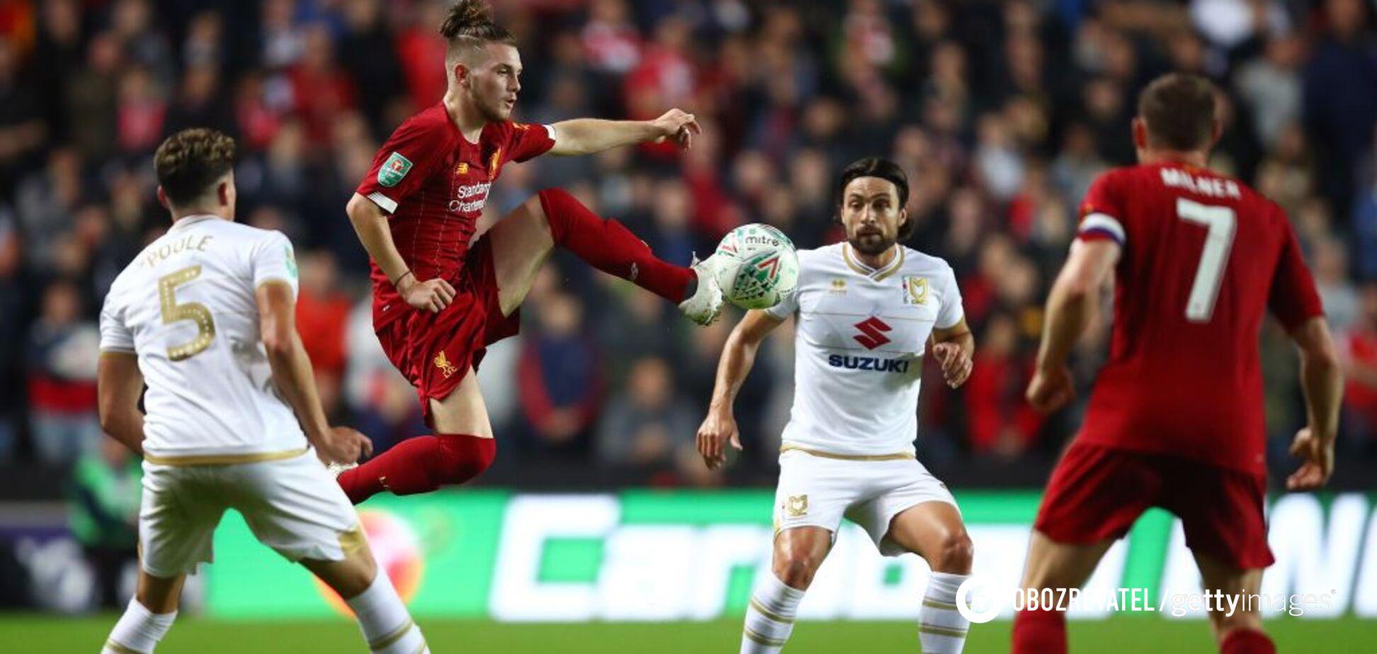Футболист 'Ливерпуля' забил бомбический гол бисиклетой
