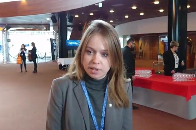 Ясько отчиталась о контактах Украины с РФ в ПАСЕ