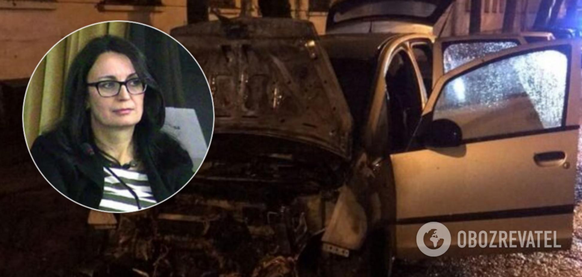 'Радио Свобода' сделало заявление о поджоге авто журналистки