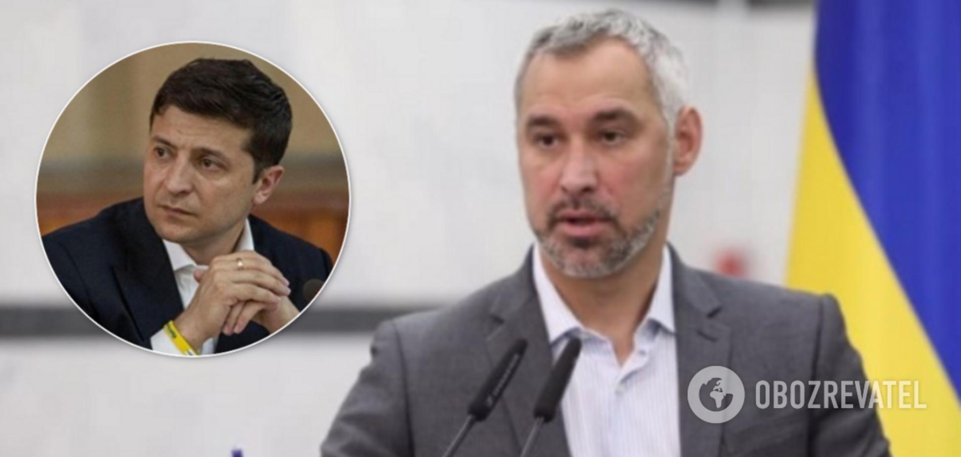 Рябошапка заявив про загрозу для Зеленського