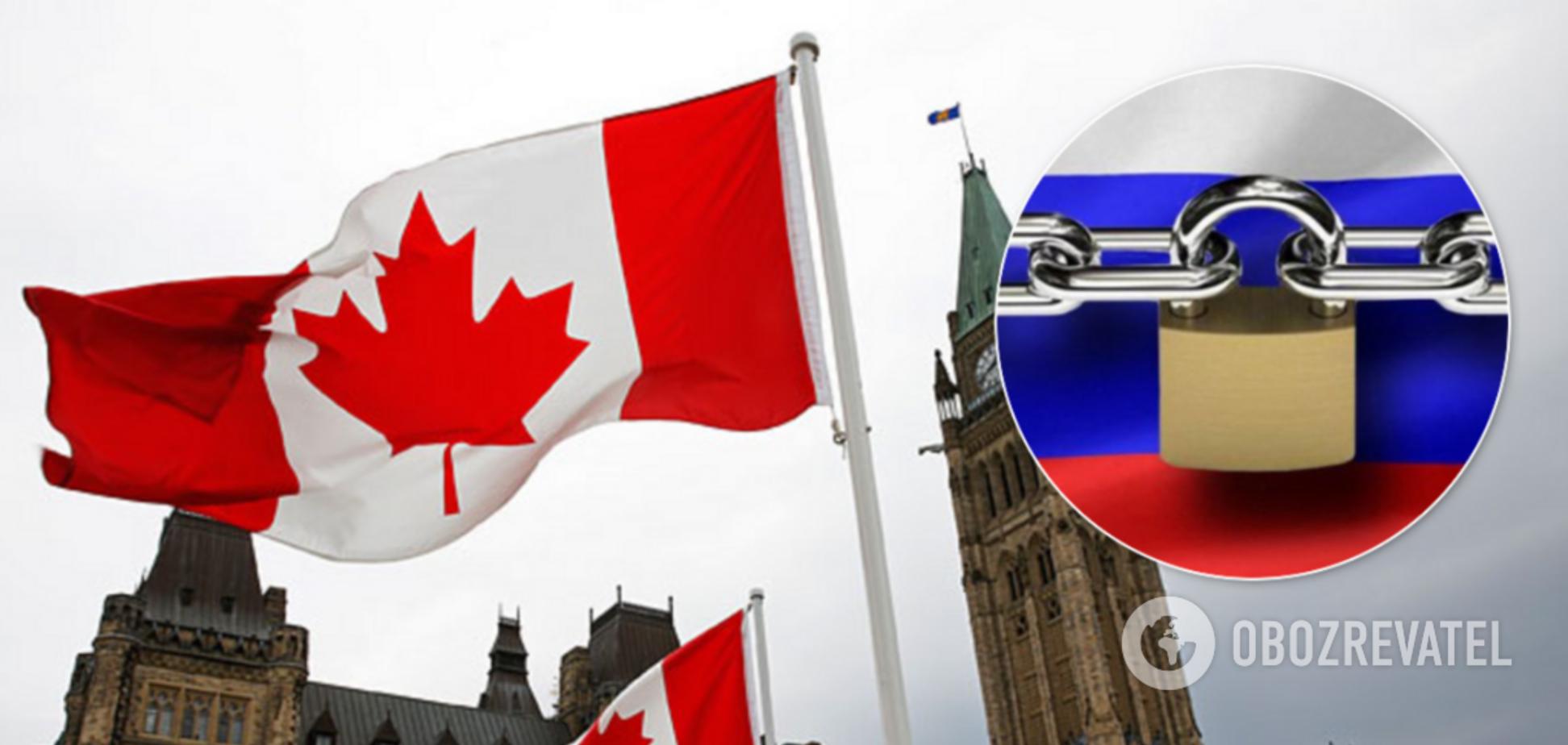 Канада після США і ЄС ввела санкції проти Росії