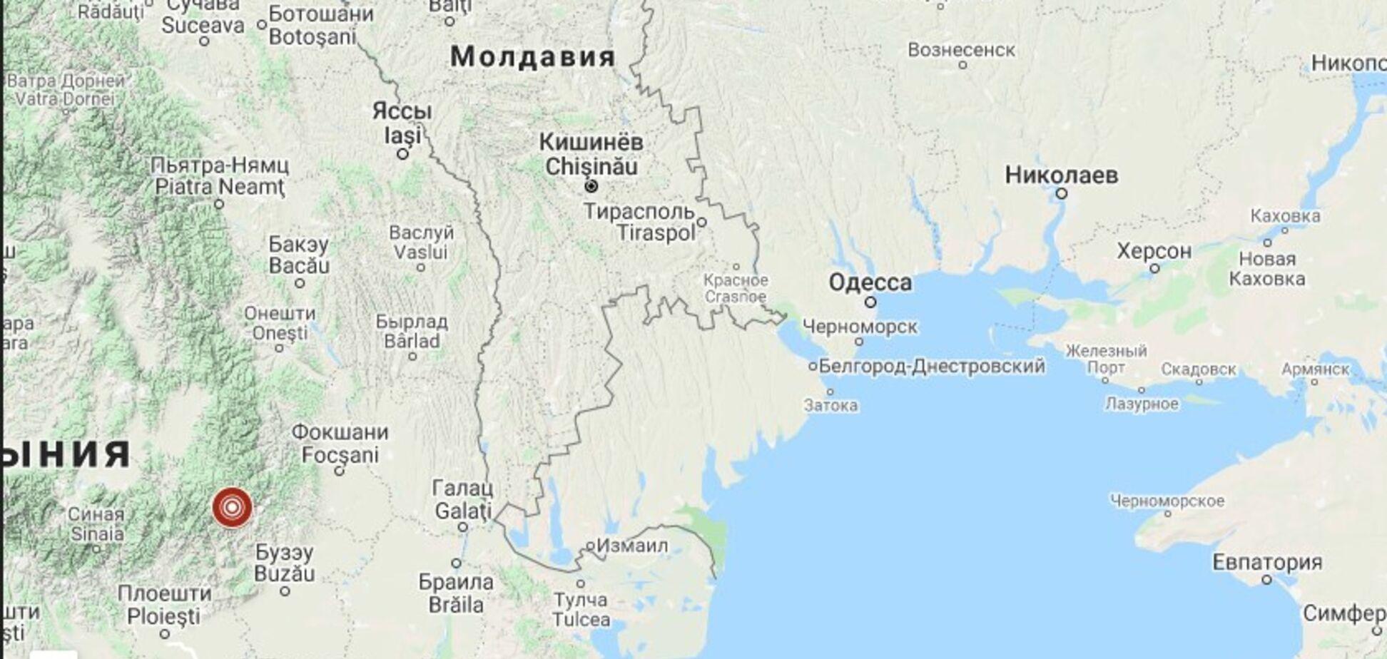 Землетрясение особенно ощутили в многоэтажках Одессы