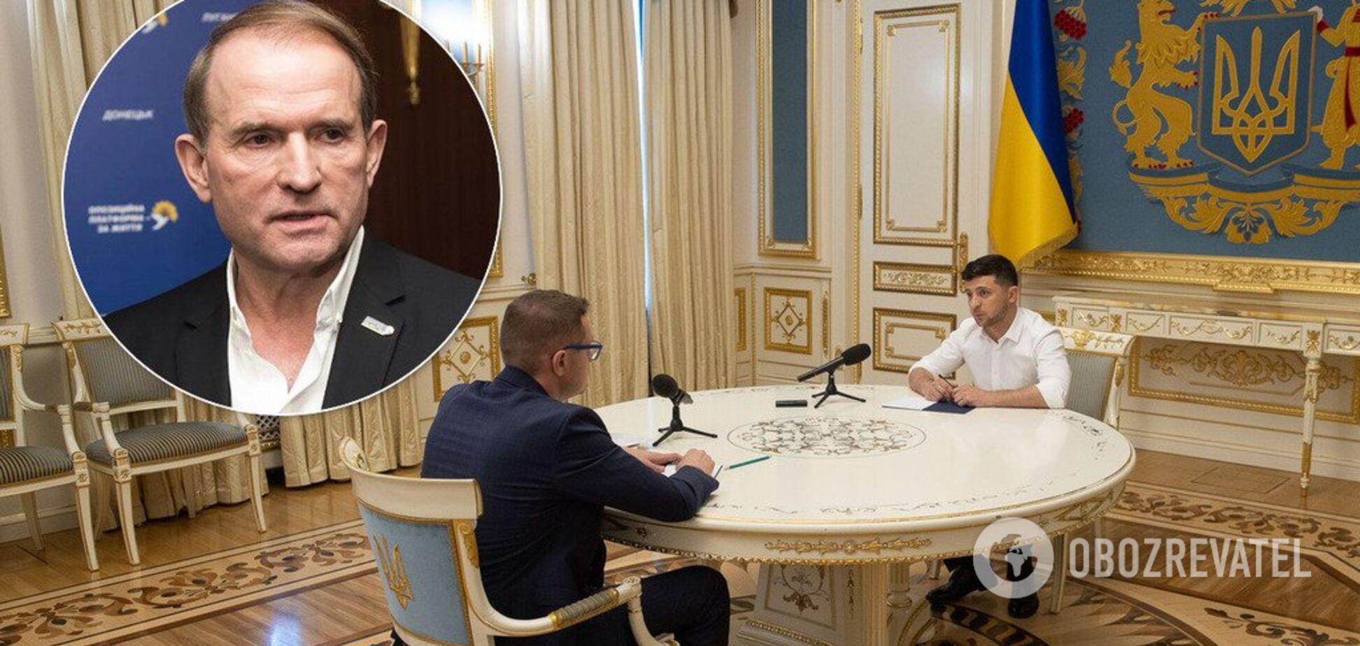 'Мы на него давим': Баканов рассказал, как пытался с Зеленским 'посадить' Медведчука