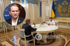 'Ми на нього тиснемо': Баканов розповів, як намагався із Зеленським 'посадити' Медведчука