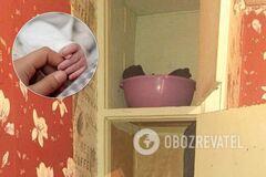 На Херсонщине студентка родила в общежитии и спрятала ребенка в пакете