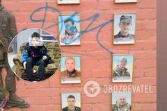 'Умрите, черти': в Черкассах подросток осквернил мемориал погибшим Героям. Фото