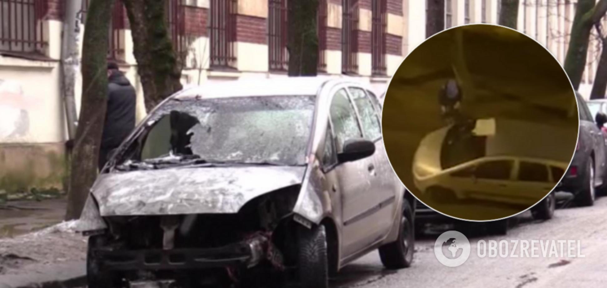 Підпал авто журналістки 'Радіо Свобода'
