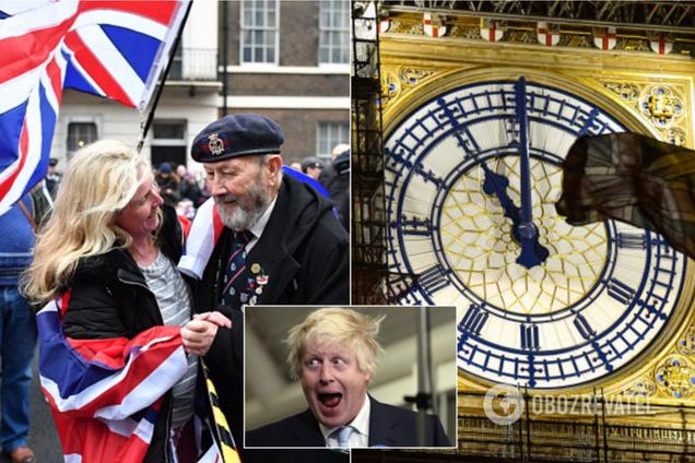 """""""Наступает рассвет!"""" Британия устроила яркие празднования выхода из ЕС: фото и видео"""