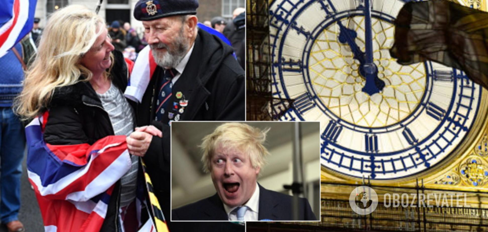 Британия устроила яркие празднования выхода из ЕС