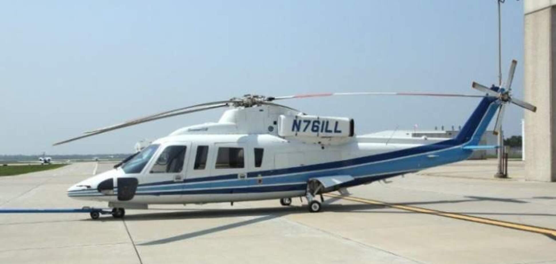Вертолет Коби Брайанта Сикорский S-76