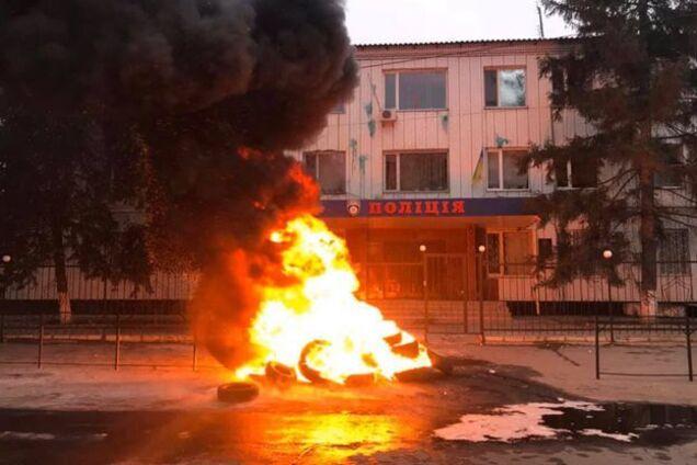 Протест в Каховке