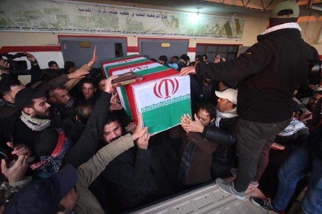 В Іраку почався похорон Сулеймані