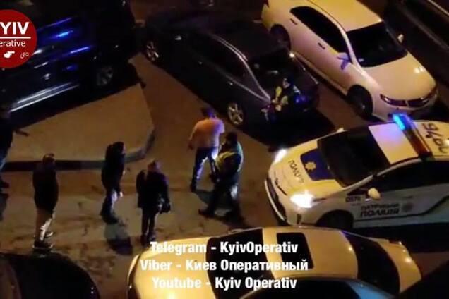 В Киеве пьяный неадекват устроил переполох
